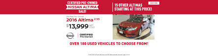 nissan altima zero percent financing new u0026 used car dealer ames ia lithia nissan of ames serving des