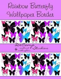 Wallpaper Borders For Girls Bedroom Purple Zebra Wall Border Decals Teen Room Decor Baby Nursery