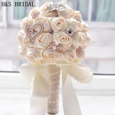 artificial wedding bouquets 8 colors gorgeous wedding flowers bridal bouquets artificial