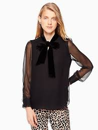 Blouse With Big Bow Tops U0026 Blouses Silk Bows U0026 More Kate Spade New York