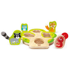who s in the tree puzzle e1616 hape toys