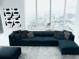Modern Low Back Sofas L Shape Sofa Set For Modern High End Villa Modern Low Back