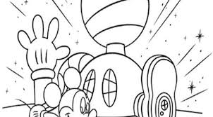 printable mickey mouse clubhouse coloring pages bebo pandco