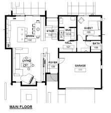 Contemporary Floor Plan by Home Plan Designer Latest Gallery Photo