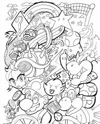 fire kirby coloring pages virtren com