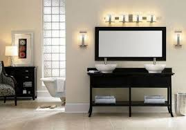 bathroom over mirror lights interior design