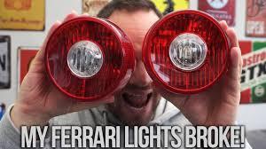 where can i get my tail light fixed how i fixed my ferrari f430 rear lights youtube