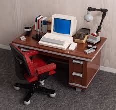 head back to the 80s with chris mcveigh u0027s lego retro desk kits
