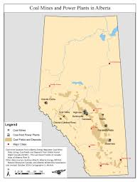 Calgary Alberta Canada Map by Coal Alberta Wilderness Association