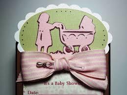 photo homemade baby shower invitation image