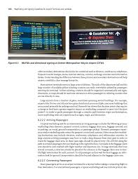 Detroit Airport Terminal Map Chapter 6 Terminal Wayfinding And Signing Guidelines For