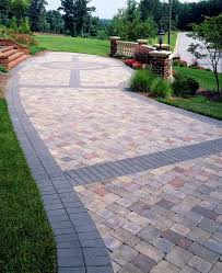 Patio Paver Designs Paver Banding Design Ideas For Pavers Landscape Pinterest