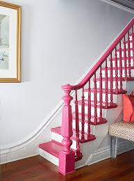 Painting A Banister White Pink Stair Banister Pretty And Pink Pinterest Stair Banister