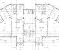 Residential Building Floor Plans by Ah Residential Building Working Drawing Typical Floor Plan