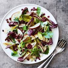 Good Salad For Thanksgiving Pear Salad With Blue Cheese Walnuts And Pomegranate Williams Sonoma