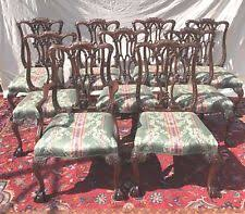 Chippendale Dining Room Set Chinese Chippendale Antique Furniture Ebay