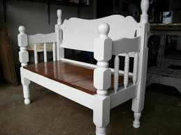Bed Frame Bench Benches Made From Bed Frames Bed Frame Bench We Used A