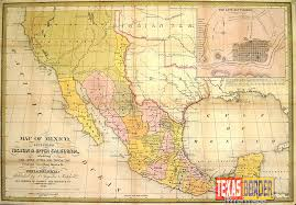 Map Of Yucatan Mexico by 1848 Treaty Of Guadalupe Hidalgo Between Mexico Us Invalid
