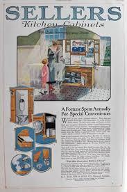 sellers kitchen cabinet 1920 sellers kitchen cabinet ad special conveniences vintage