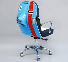 scooter chair an old vespa scooter made into a modern office chair