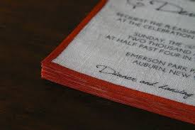 wedding invitations joann fabrics you can totally make your own linen invitations offbeat