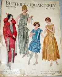 Butterick Halloween Costume Patterns 1920s Patterns Vintage Reproduction Sewing Patterns