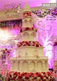 wedding cake kelapa gading new model in of 2016 by rr cakes bridestory
