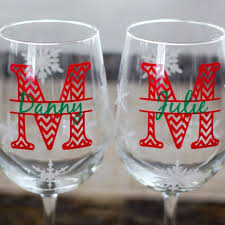 diy monogram wine glasses monogram wine glasses personalized etsy bridesmaid glass charms