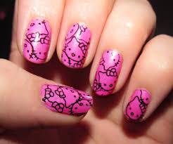 cute hello kitty nail designs gallery nail art designs