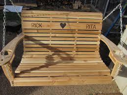 Wooden Glider Swing Plans by Diy Cedar Porch Swing Wilker Do U0027s