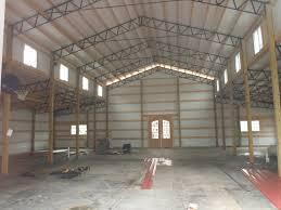 inside 30x80 pole barn house plans pinterest barn shop