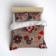 tattoo bedding queen flower swallow tattoo bedding tattoo inspired design sugar