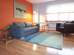 orange and grey paint which wall color goes good with light brown