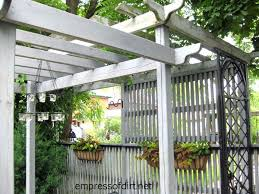 Privacy Fence Ideas For Backyard Garden Fence Screen Privacy Ideas Empress Of Dirt