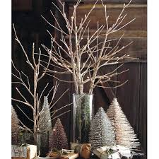 lighted branches roost golden glitter lighted branches modish store