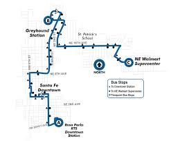 Greyhound Bus Routes Map by Fall Route27 Rosa Parks Downtown Station To Ne Walmart