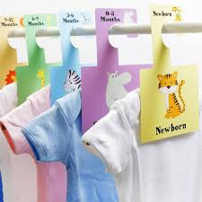 Baby Clothes Dividers Wardrobe Dividers By Beautiful Birthing Notonthehighstreet Com