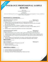 insurance agent sample resume insurance sales resume sample