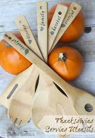 thanksgiving table serving utensils great hostess gift