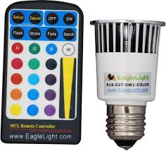color changing light bulb with remote eaglelight color changing led light bulb glowy