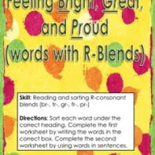 blends activities have fun teaching