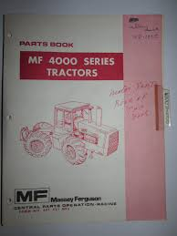 buy massey ferguson mf 390 tractor parts catalog book manual