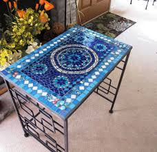 Mosaic Patio Tables Stylish Design For Mosaic Patio Table Ideas Contemporary Home