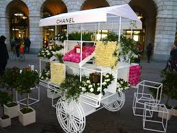 flower cart chanel flower cart disneyrollergirl