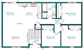 Split Level Floor Plan Level Basement Floor Floor Split In Cheerleading Simple Split