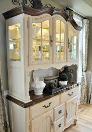 Kitchen Cabinets Used Sideboards Stunning Cream Colored China Cabinets Glamorous Cream