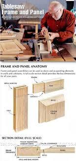 Cabinet Door Construction Diy Shaker Cabinet Doors Table Saw Home Furniture Decoration