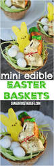 how to make mini edible easter baskets