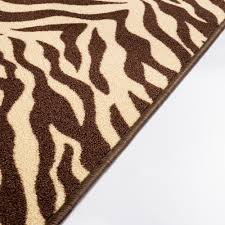 Brown Zebra Area Rug Decoration Large Cowhide Rug Zebra Living Room Rug Zebra