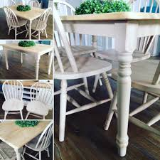 shabby chic country kitchen table and chairs in stewarton east